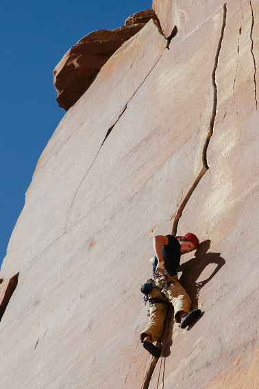 Climbing Indian Creek Utah