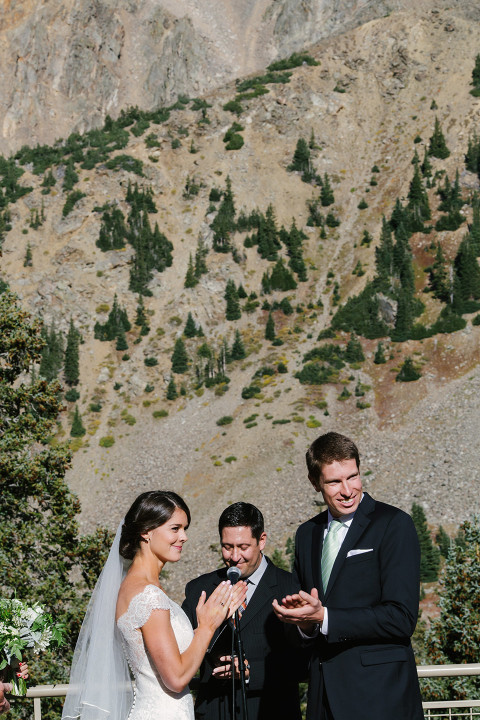 Anna + John | Arapahoe Basin Wedding Colorado